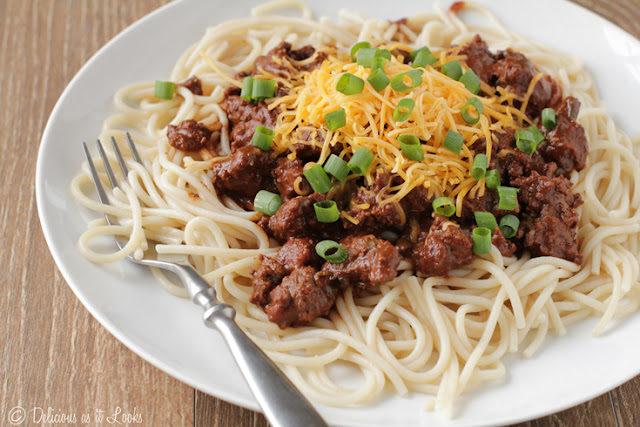 Low-FODMAP Cincinnati Chili  /  Delicious as it Looks