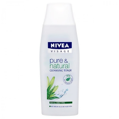 NIVEA Pure & Natural Cleansing Toner, Rangkaian Proudk NIVEA Pure & Natural, NIVEA Pure & Natural, NIVEA