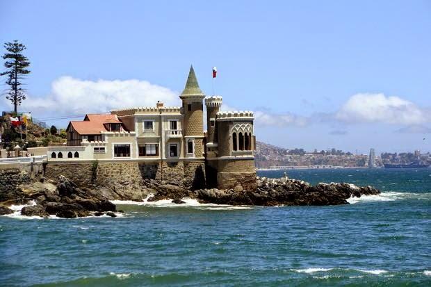 Wulff Castle en Viña del Mar, Chile