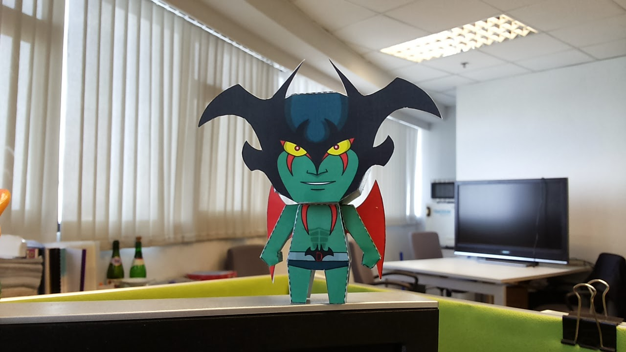 Devilman Papercraft