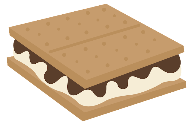 grant avenue design freebie friday  yummy s mores smores clip art jpeg s'mores clip art black and white