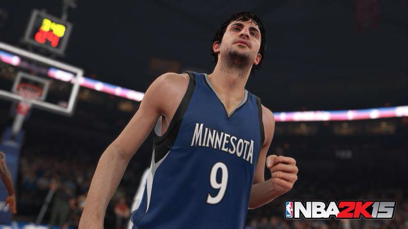 NBA 2K15 Ricky Rubio Screenshot