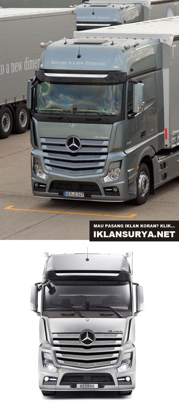 truk trailer terbesar