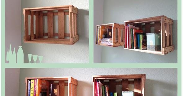 nnisews regal aus weinkisten. Black Bedroom Furniture Sets. Home Design Ideas