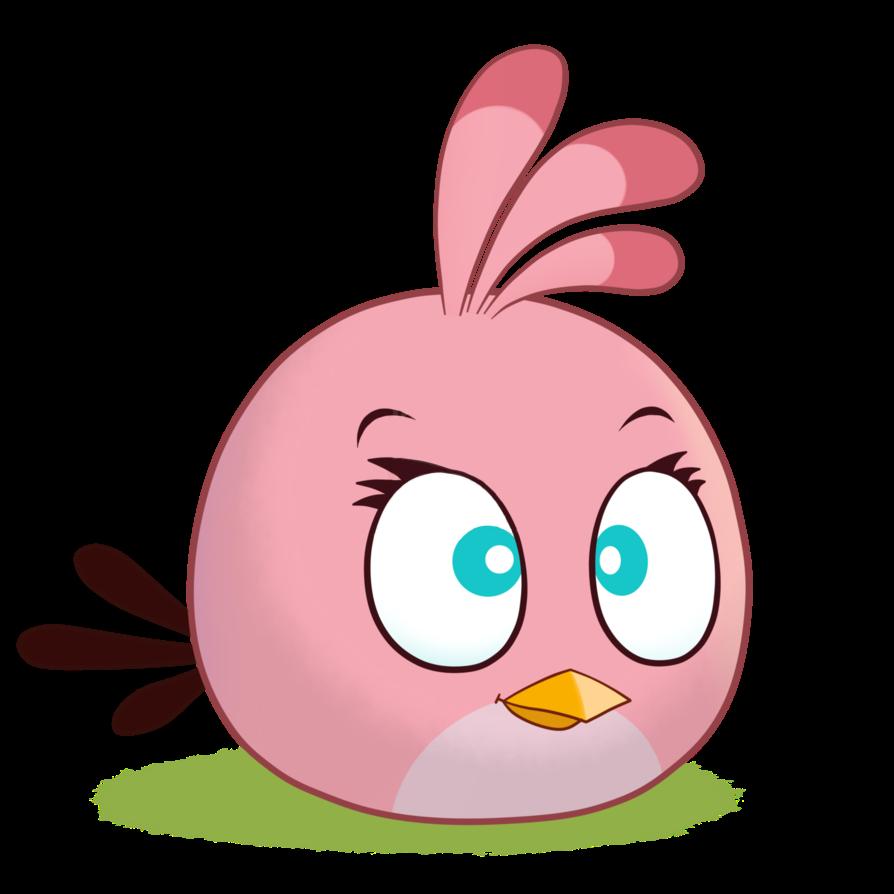 Angry bird brown bird