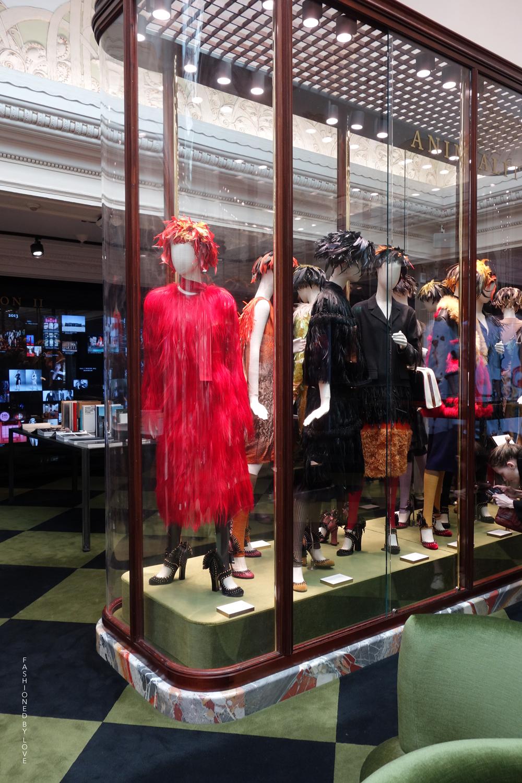 Pradasphere exhibition in Harrods \ London 2014