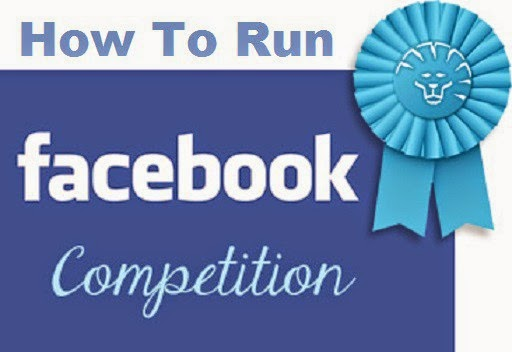 How to Run a Facebook competitions with Rules image photo