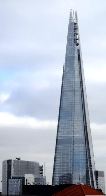 Photo of the Shard, SE1 on lambethcyclists.org.uk