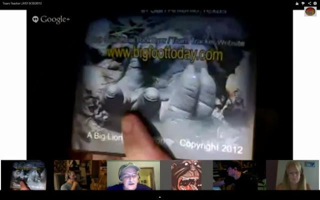 Rick Dyer Bigfoot Ape Hand