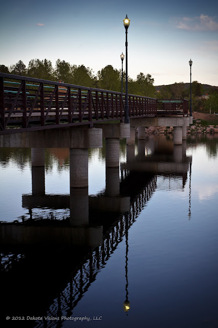 Water Reflections at Canyon Lake Park in Rapid City Black Hills by Dakota Visions Photography LLC www.dakotavisions.com