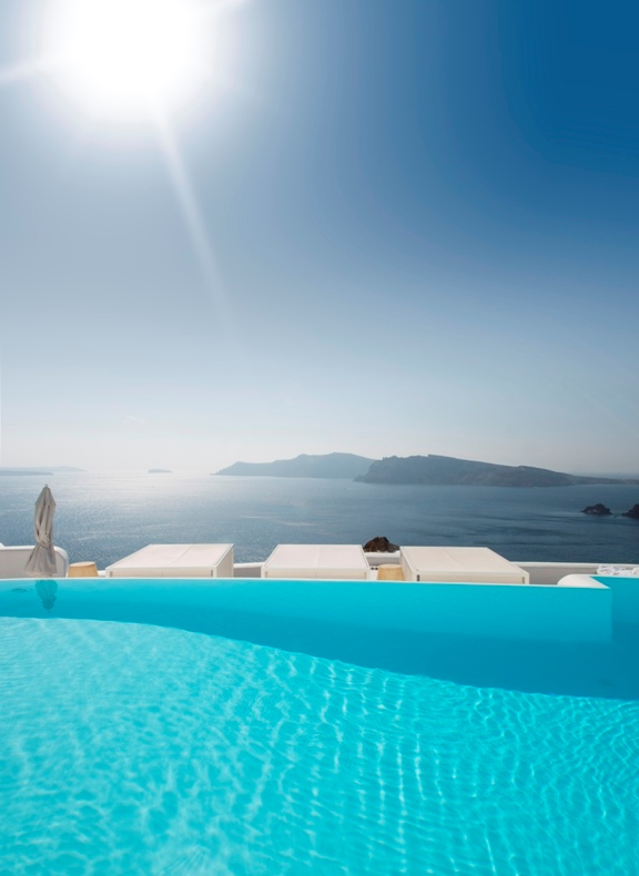 hotel con encanto en Oia santorini