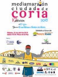 """X MEDIA MARATÓN """"CIUDAD DE CORIA"""" 2018"""