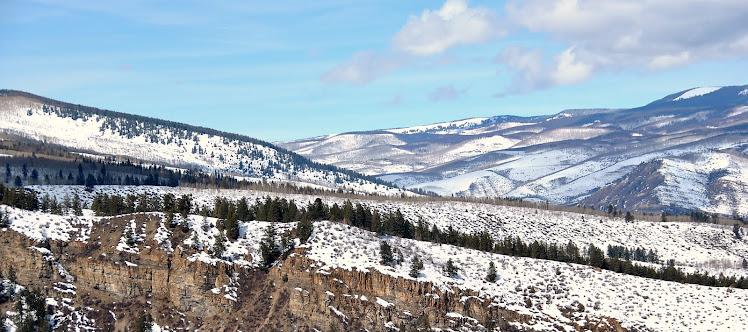 colorado mountain view