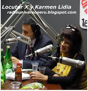 LOCUTOR X Y KARMENLIDIA - TRANSMISION DIRECTA WEB, LUNES 4PM