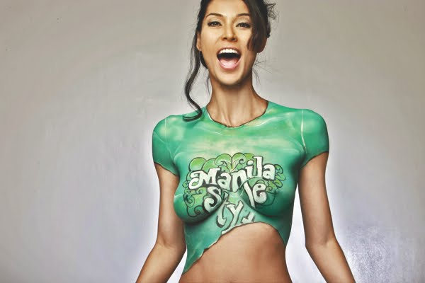 Joey Mead Sexy Body Paint