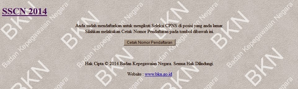 Panselnas.Menpan.go.id CPNS 2015