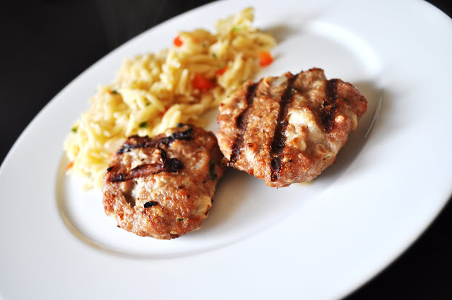 Grilled Turkey Patties