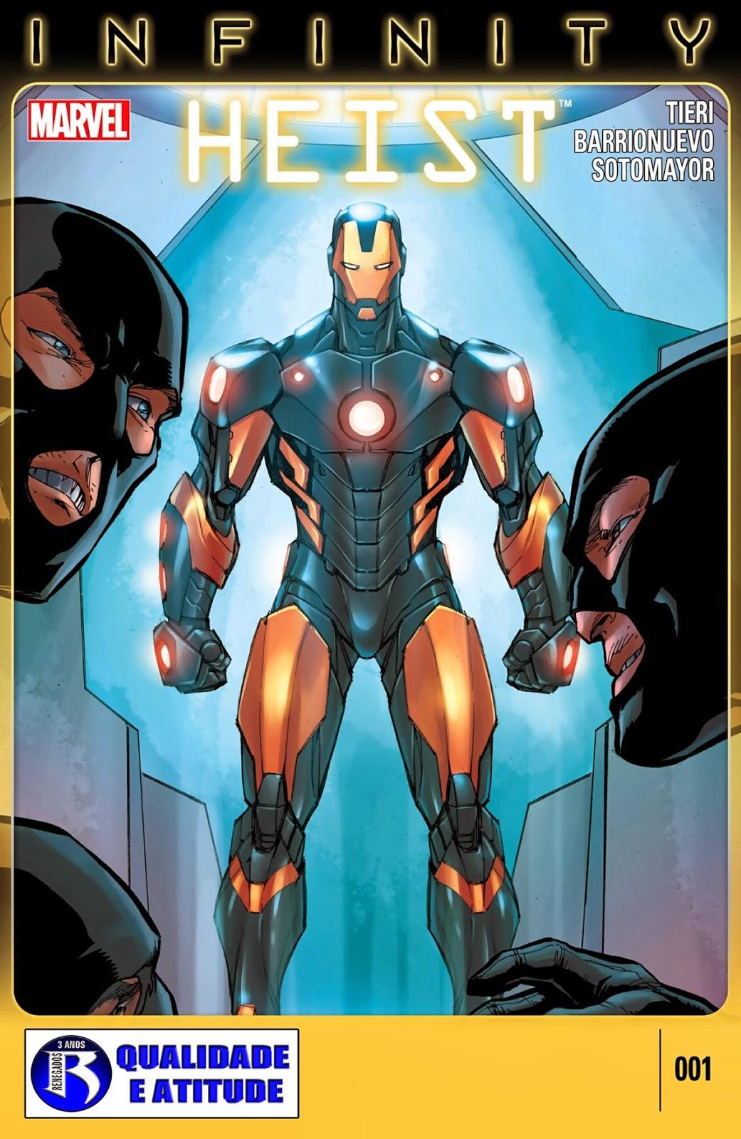Nova Marvel! Infinito: O Golpe #1