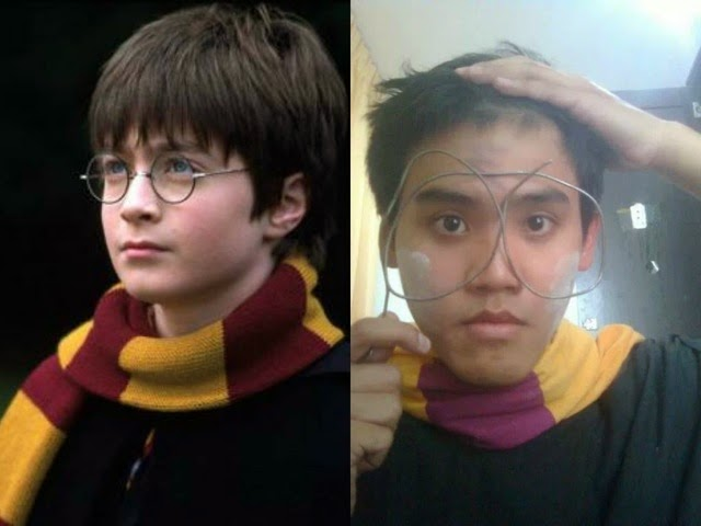 Lowcost Cosplay - Harry Potter