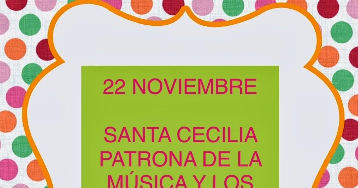 22 de noviembre santa: