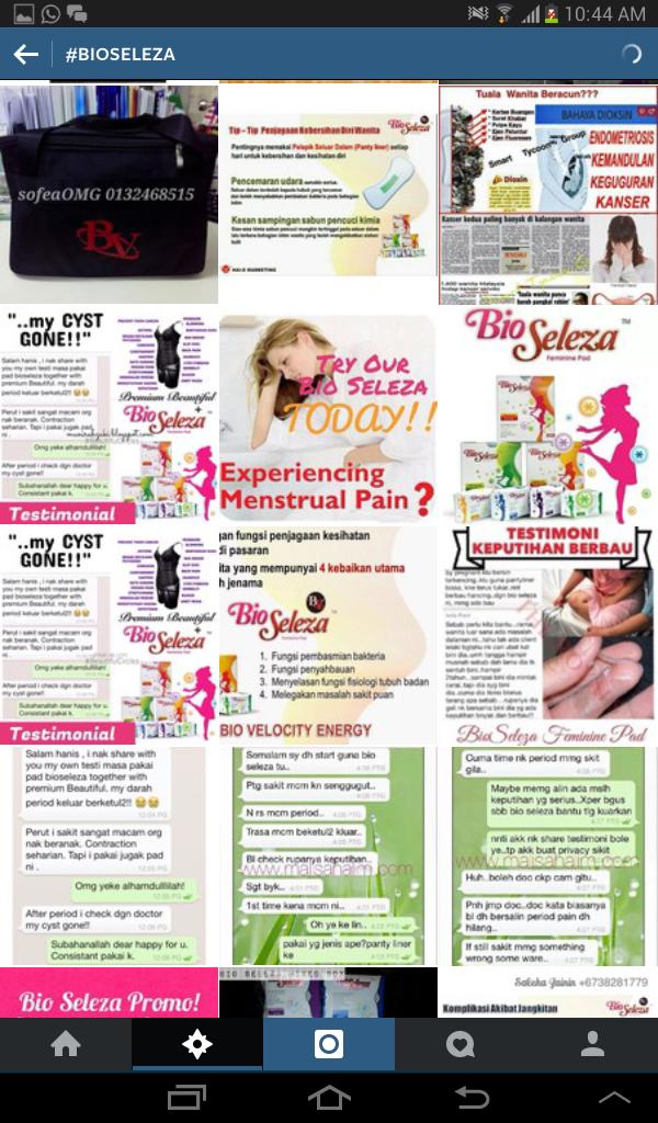 bioseleza, agen bioseleza, bio seleza feminine pad, tuala wanita bio seleza, pad wanita, azniza arshad