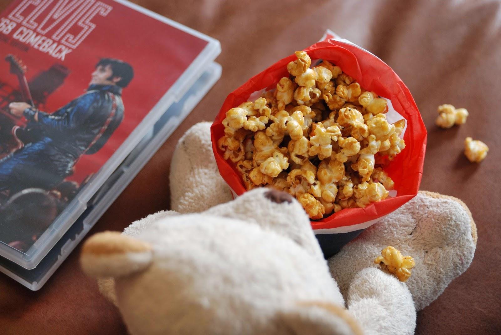 recette popcorn au caramel