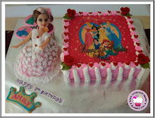 Barbie Doll Princess Cake Theme