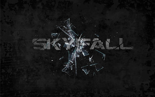 Skyfall PowerPoint background 04