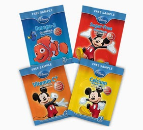 Free Disney Vitamin Sample