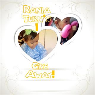 """""""Rania Turn's 1 GiveAway!"""""""