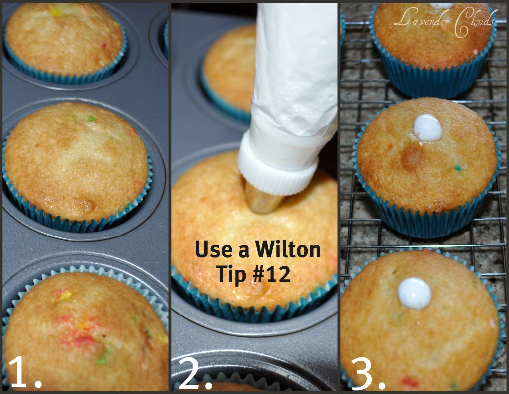 How To Fill Cupcakes With Filling