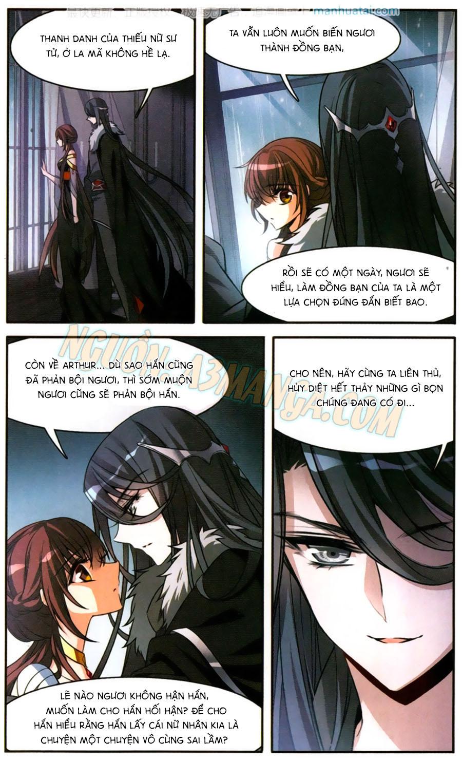 Kỵ Sĩ Hoang Tưởng Dạ chap 150 page 20 - IZTruyenTranh.com