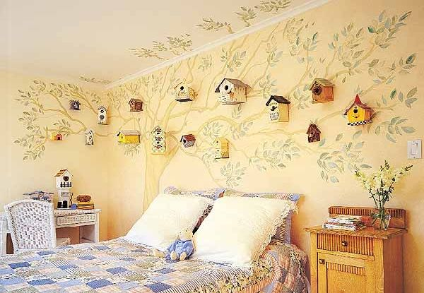 The Golden Fingers: A Few Wall Decorating Ideas