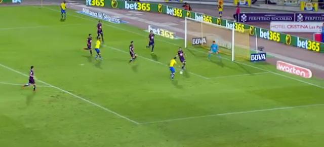 Segundo gol de UD Las Palmas gol de Momo