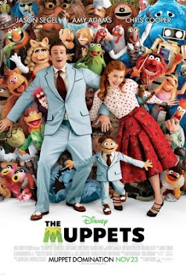 The Muppets movie (2012). pelicula poster