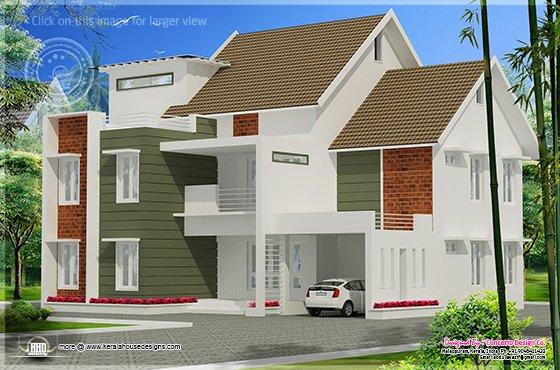 Modern mix home
