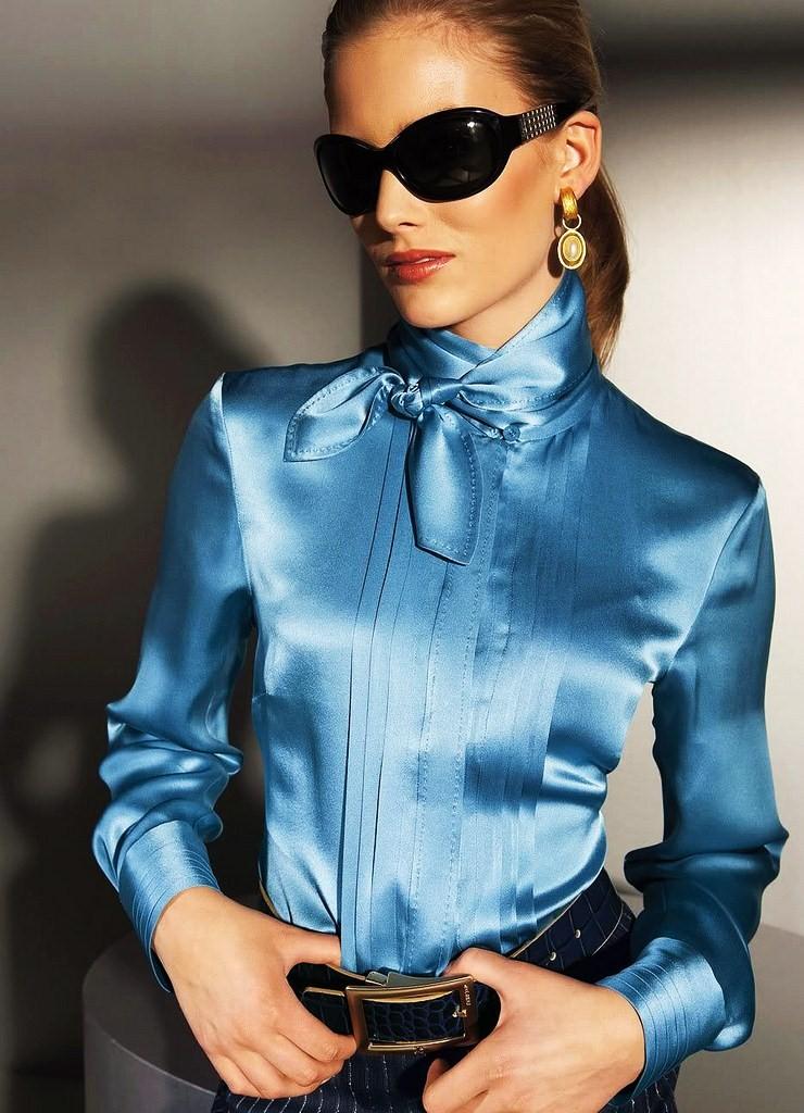 Next Blue Print Blouse 43