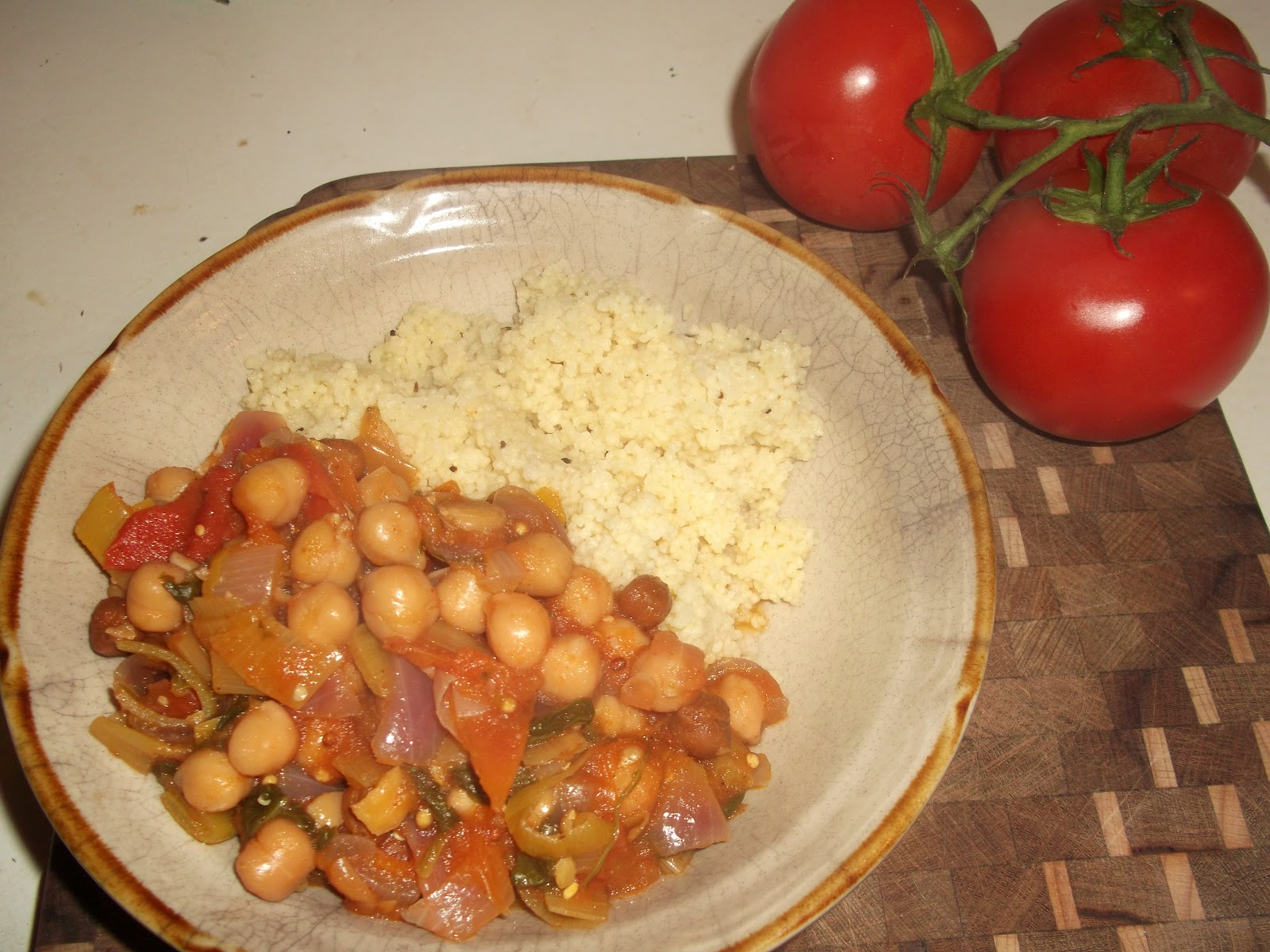 vegan vaginas: Matildas spicy chickpea stew of champions