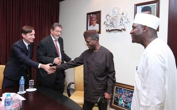 Osinbajo holds meeting with Canadian and Italian Ambassadors