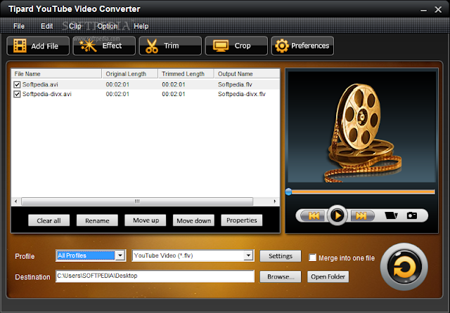Descargar Tipard YouTube Converter 5.0.26 Full por Mega 1