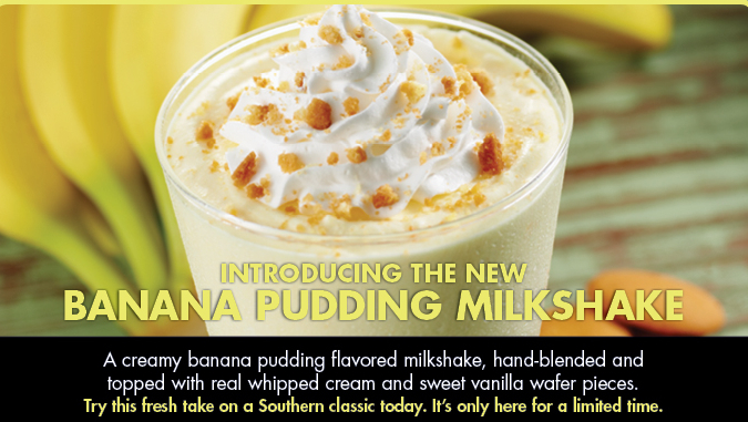 ... Informant: REVIEW: Zaxby's Banana Pudding Milkshake (Limited Edition