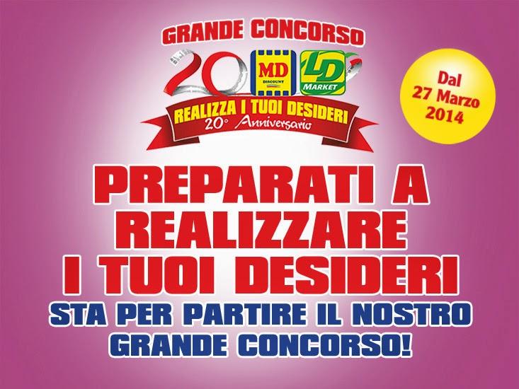 concorso lidl e md discount ''realizza i tuoi desideri''