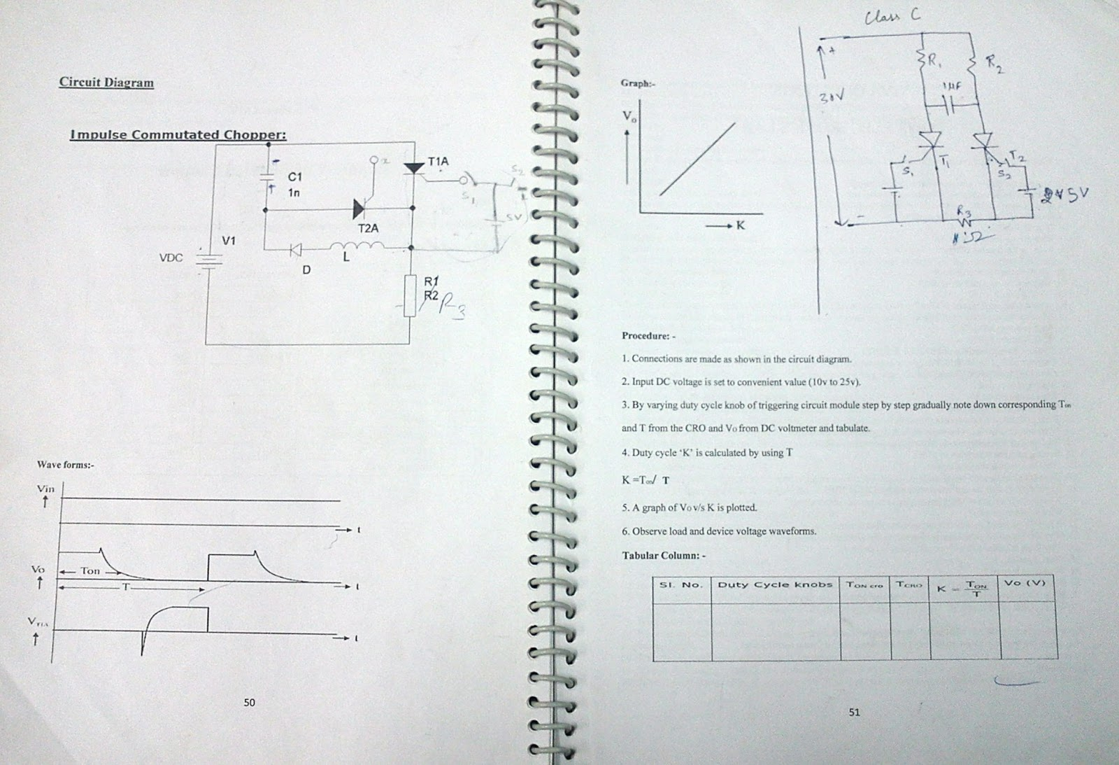Power Electronics Lab Manual Sem 6 The Last Bencher Electronic Circuit I Posted 1st March 2013 By