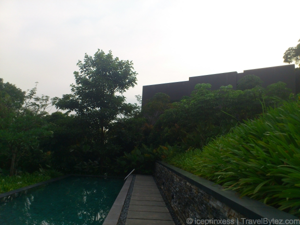 Capella Singapore Sentosa Cascading Lap Infinity Pool