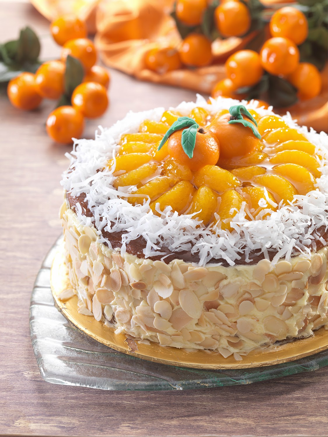Mandarin Orange Cake I Recipe — Dishmaps