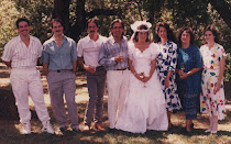 Me and my 7 siblings a few years back at Christine's wedding