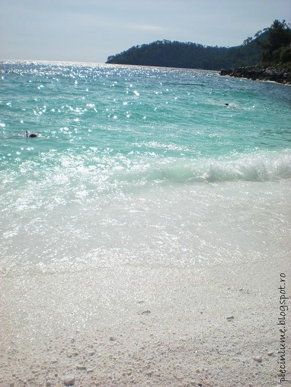 Marble beach( Plaja de marmura)