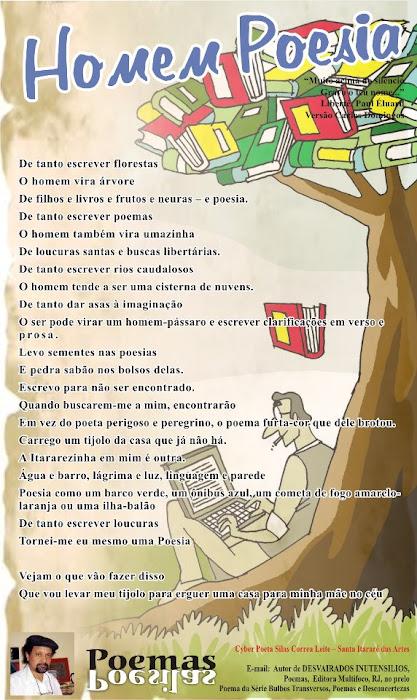 HOMEM POESIA, Poster Poema