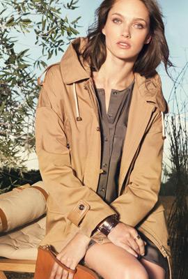 Massimo Dutti primavera 2013 moda parca mujer