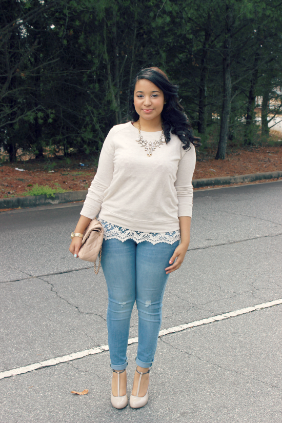 Jeans A Sweatshirt Lulu Linden